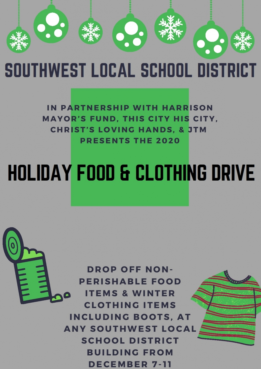 Food and Clothing Drive